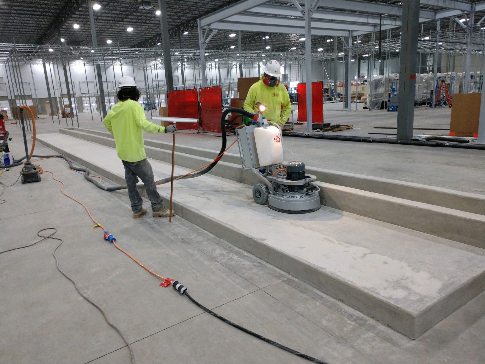 Commercial Concrete Floor Polishing